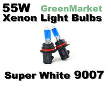 Chrysler 00-03 Voyager High/Low Beam 9007/HB5 Xenon- 55w Super White Bulbs