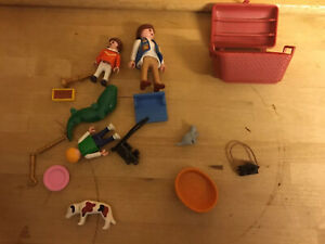 Playmobil Western Zoo Camera Video assorted pieces multiple sets Rare Job Lot