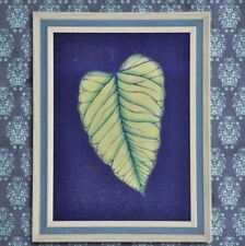 Wall Painting Picture Canvas Wooden Frame Wall Art Modern Design - Leaf