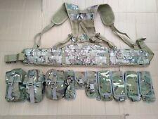More details for mtp / multicam webbing plce belt kit set 10 osprey pouches molle belt yoke