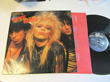 HANOI ROCKS two steps from the move LP Record orig 1984 bfe39614 w/jp insert pic
