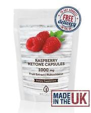 Raspberry Ketones Fruit Extract 1000mg Capsules BritVits GB