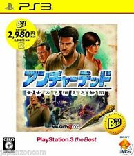 Used PS3 Uncharted 2 BEST  PLAYSTATION 3 SONY JAPAN JAPANESE IMPORT