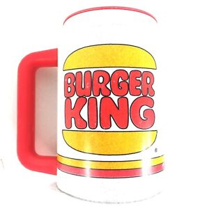 Vintage Burger King Cup with handle and lid