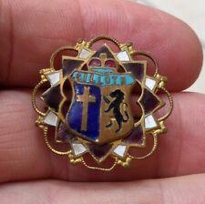 Silloth Cumbria England OLD  Quality Enamel Lapel Pin Badge