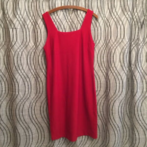 PREMISE DRESS - RED - Apple Orchard Back Zip - New - Women's XL