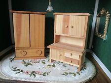 Dollhouse Furniture 2 Piece of Kitchen Furniture