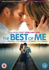 The Best Of Me James Marsden, Michelle Monaghan, Liana Liberato NEW UK R2 DVD