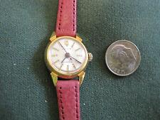 #322 ladys gold plate BULOVA automatic 17 jewel watch
