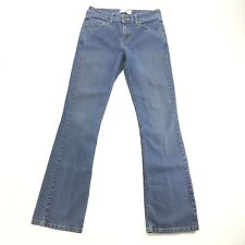 Levi Strauss Womens Medium Wash Stretch Low Rise Bootcut Jeans Size 28