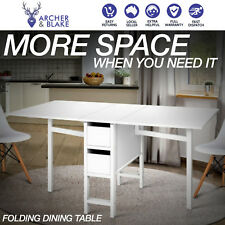 New Folding Dining Table Kitchen Furniture Student Study Desk Sewing Craft Meals