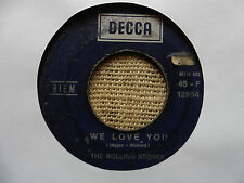 The Rolling Stones ‎– We Love You - Vinyl, 7""