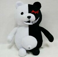 1pc Dangan Ronpa Mono Kuma Monokuma Bear Soft Plush Stuffed Toys Child Gift US