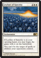 [1x] Leyline of Sanctity [x1] Magic 2011 Played, English -BFG- MTG Magic