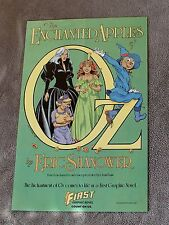 Enchanted Apples of OZ 1986 Wizard Shanower First GN Frank Baum PROMO Poster VF