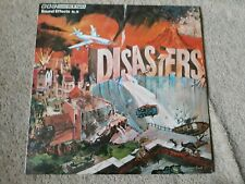 BBC RECORDS SOUND EFFECTS VINYL LP - DISASTERS