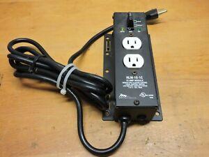 Middle Atlantic RLM-15-1C 15 amp Module 12 Volt remote DC control Outlet