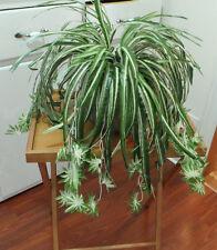 2 Chlorophytum Grass Vine Artificial Flower Bush Spider Hanging Home Decoration