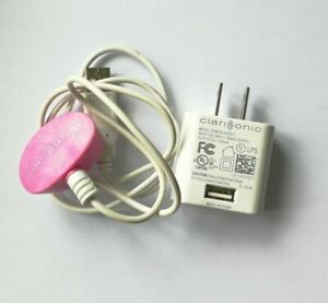 AC Power Charger Adapter For Clarisonic Mia 3 Aria 4 SMART Profile Pedi Pink