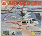 RARE NEW 049 .049 Powered Engine Free Flight COX AIR SEARCH & RESCUE Helicopter