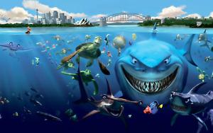 Finding Nemo - Disney Pixar Animation Movie Photo Poster / Canvas Picture Print