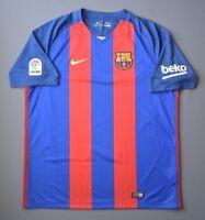 Barcelona Jersey 2016 2017 Home XL Shirt Mens Camiseta Football Soccer Nike ig93