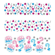 Amscan 361573 34 G Girl or Boy Confetti Pack of 3
