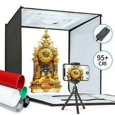 Photo Light Box Kit 20x20Inch Dimmable Photo Studio Professional Shooting Tent