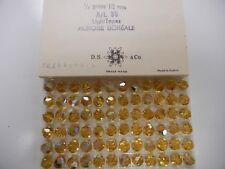 full box,72 swarovski crystal beads,10mm light topaz AB #39(5300