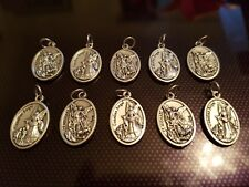 10x St Michael Catholic Saint charm Vatican City medal medallion Italy