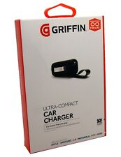 GENUINE Griffin Powerjolt Universal Car Charger - Black - Quick Dispatch - NEW !