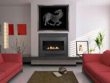 Victor Vasarely Original Zebra Cast Relief Sculpture Large Signed Animal Artwork