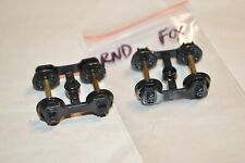 Ho scale Parts freight car trucks plastic Roundhouse Fox old time