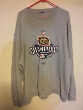 New England Patriots NFL Super Bowl xxxvii champs sweatshirt  XXXL reebok