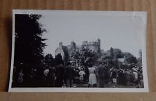 Photograph Social History Private School Sports Day Country House  1930's