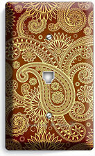 DAMASK PAISLEY PATTERN PHONE JACK TELEPHONE WALL PLATE COVER LIVING ROOM DECOR