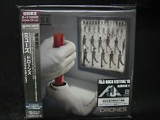 MUSE Drones JAPAN  CD + DVD Special Edition British Rock
