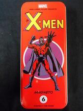 Classic marvel character tin x-men #6: magneto (dark horse deluxe) neuf
