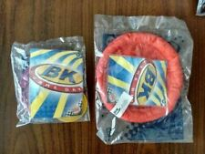 BK Gameday 2 Unopened Burger King 2003 Disc Launcher And Flying Ring