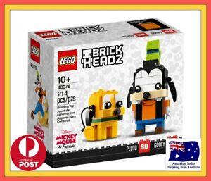 LEGO Goofy & Pluto   BrickHeadz   Disney   40378 Brand New and Sealed