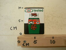 STICKER,DECAL  OM TESTED TRACTOR TREKKER TOOLS APPARATUUR