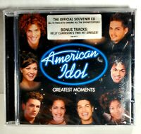 American Idol Greatest Moments - Various/Kelly Clarkson - CD Album 2002 - SEALED