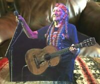 """Willie Nelson """"Country Music Star"""" Color Tabletop Display Standee 7 1/2"""" Tall"""