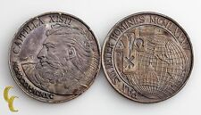 Lot of 2 1985 Pope John Paul II Silver Commemorative Medals John Paul Sistine