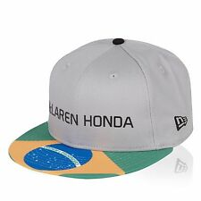 McLaren Honda F1 Official Special Edition Brazil GP cap 9Fifty -  Size S/M