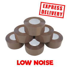36 ROLLS OF EXTRA STRONG BROWN LONG SELLOTAPE 48MM X 150M LOW NOISE!!!