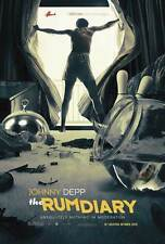 """THE RUM DIARY Movie Poster [Licensed-NEW-USA] 27x40"""" Theater Size Johnny Depp"""