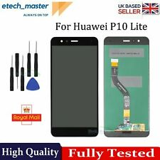 For Huawei P10 Lite LCD Black WAS-LX1 Touch Screen Digitizer Display Replacement