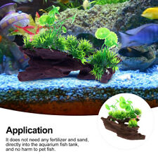 Aquarium Artificial Plants Decoration Fish Tank Wood Root Resin Ornament
