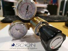 Mini Argon CO2 Gas Bottle Pressure Regulator MIG TIG Welding Flow Meter Gauge